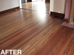 after the finish shows up the beauty of the mixed australian hardwoods